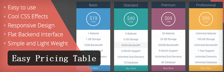 easy-pricing-table_wpdaxue_com